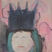 Kruunun paino, öljy kankaalle 2013, 55x50